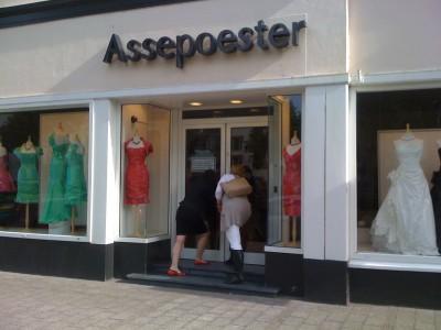 Assepoester in Arnhem levert de bijzondere trouwjurk van Twedding