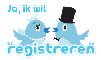 Ja- ik wil aanwezig zijn bij twedding en wil me registreren